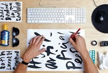 Type / Typography and Handlettering