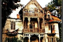 ABANDONED HOMES & CASTLES - ABANDONED, SCARY, HAUNTED FROM TIMES PAST / LONELY HOMES AND PLACES PROBABLY BEST LEFT ALONE / by JANICE COOMES