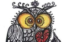zentangle-i draw-my works / kresba-drawing-my hobby