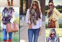 Blanket Scarves / Time to get comfy-cozy in this season's best tartans and plaids!