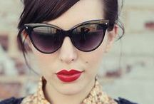 Cat Eye Sunglasses / Cat Eye sunglasses come in many shapes and sizes to make you feel like your purr-fect self!