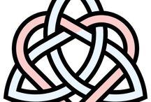 Celtic Design - Stencil Patterns-Letters