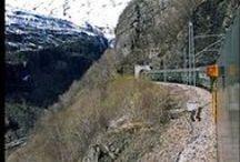 Flåmsbana / Experience the worlds most exotic railway in Norway.  The Flaam Railway - Flåmsbanen