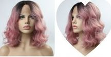 EvaHair Product Gallery / EvaHair products gallery, introducing you EvaHair designer synthetic lace front wigs, with beautiful haircut and color.
