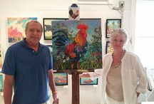 Key West Art/Artists / My home town through the eyes of artists. Pure tropical joy.