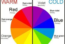 Colour / Useful ideas comments about colour could help with choices when designing your work