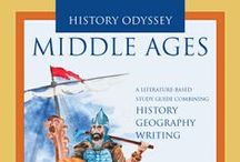 History Odyssey Middle Ages / Ideas and Activities for History Odyssey Middle Ages #Homeschool #History