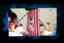 Pirate Birthday Party / Lovely design and beautiful decoration for a little big pirate boy... www.trendyfunparty.com