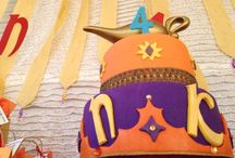 Arabian night Birthday party /  Moroccan style recreation for a birthday party celebration .