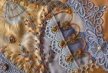 Crazy quilt \ Bordado / Сохранившиеся до настоящего времени старинные вышивки шелком, шерстью, золотом, серебром, жемчугом, камнями-самоцветами, бисером, льняными и хлопчатобумажными нитками дают представление о высоком уровне народного искусства. Когда в 1876 году американские рукодельницы увидели на Столетней выставке в Филадельфии экспозицию японской керамики и тканей, воображение рукодельной Америки было потрясено. Процесс выполнения вышивок увлекателен!