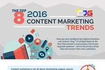 Content Marketing Tips and Infographics / Only the best contents that can guide you to successful create a content marketing campaign.