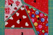 Patchwork - bločky ... / patchwork