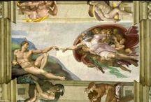 Visita in Vaticano alle opere di Michelangelo / Excursus delle opere di Michelangelo in Vaticano, vita dell'artista e principali committenti romani