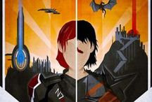 Other Fandoms / Mass Effect, Dragon Age, LOTR, and other things I pay attention to. / by Valerie Dugie