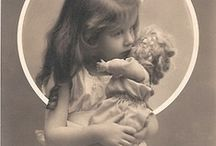 Dolls, Bears, etc. / Old dolls, old bears, old toys, old things related to doll, bears or toys. / by Annette Smith