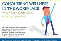 Wellness at work / Discover how to stay healthy at work from your friends at Take Flight Learning.