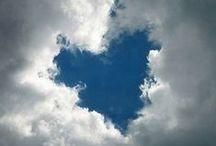Love is where the heart is... / Als je de liefde deelt word het meer dus deel de liefde!