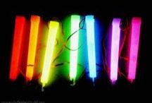 Color...Fluorescents (Neons) / Colors / by Karmen Jesse