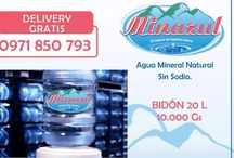 "Minazul Agua Mineral Natural / Agua 100% pura, 100% calidad. ""El tesoro de nuestra tierra"