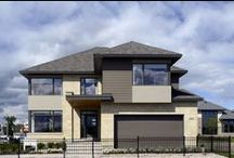 The Winfield - 3,626 Sq. Ft. / Interior and exterior photos of this fully furnished model home in the Bridlewood community.