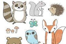 Drawing: Creatures / Animals, monsters and all manner of other creatures. And how to draw them!