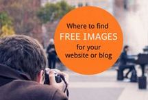 Visual Marketing / Photography & image editing tips, and where to find free images for Blogging, Websites and Social Media