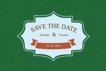 Save-the-Date-Karten / Save-the-Date-Karten für die Hochzeit. Wunderschöne Motive, Designs von modern, klassisch, verspielt bis hin zu ganz individuell auf http://www.hochzeitskarten-paradies.de/save-the-date