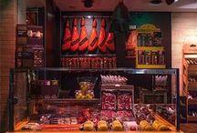 Our Store / Nuestra Tienda / Nuestra tienda y espacio degustación en el Mercado de Triana, Sevilla. Our store and tasting room at Mercado de Triana, Seville.