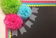 Classroom Decoration / Inspiring decorations and design for classrooms or homeschool rooms.