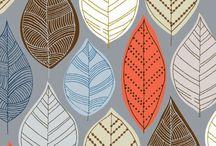 Patterns / Pattern inspiration. Fabric.