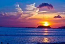 Por-do-sol, nada melhor há