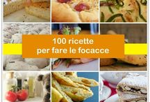 FOCACCE, PIZZE & TORTE SALATE