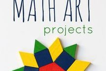 Art in Math / Math and art activities! Drawing, painting and sculpture inspired by the beautiful patterns of mathematics.