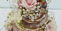 Wedding Cakes - Rustic/Naked / Naked wedding cakes are an absolute delight to behold when done well.  They can add to a rustic look and are beautiful when adorned with berries, flowers or foliage.