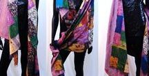 Scarves/Shawls/Stoles / Ethnic Indian shawl, scarf, stole. Silk, crushed crepe, georgette, silk-cotton. Handwoven, hand painted shawls. Embroidered, sequin and mirror work shawls.
