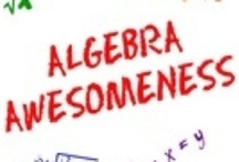 Algebra Awesomeness / This board is designed for algebra (and beyond) teachers to share ideas, lessons, materials, games, etc.  Please send me an e-mail at help@AlgebraAwesomeness.com for permission to pin to this board.  Thank you for your support! --David Robertson, AlgebraAwesomeness.com