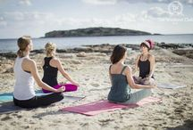 TWC Beach Yoga Sessions / We believe in the triangle of body, mind and energy. In The Workout Club sessions we teach the importance of proper use of the Chi flow or Prana.