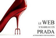 Le Web s'habille en Prada / Introduction de la conférence Le Web s'habille en Prada. Parallèles entre l'art et la mode.