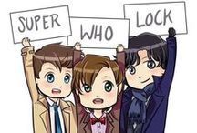 Fandoms United. / Please brows our extensive collection of many things from many places. ;) / by Jim Moriarty