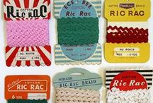 Rick Rack / Rick rack trim~ so many possibilities!