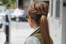 Hearstyle / Messy bun and getting stuff done