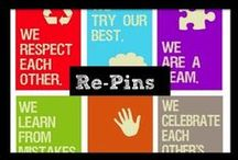 Re-Pins / Inspiration and innovation for the Middle School ELA Classroom from fellow teachers.