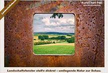 Kunst vom Feld / Jahreszeitliche Eindrücke aus der Gegend um Bruchköbel in Hessen (Rhein-Main-Gebiet)
