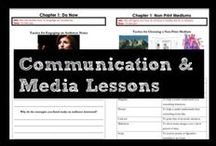 Communication and Media Lessons / Lesson plans, notes, and practice problems for the Communication and Media standards. Build student understanding and mastery of speech writing, using multi-media in presentations, and engaging the audience.