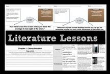 Literature Lessons / Lessons reinforcing foundational skills to access and analyze literature. Lessons include figurative language, characterization, point of view, literary devices, and text analysis. Use to review, remediate, and reteach as a skill-based practice before moving on to more rigorous literary analysis.