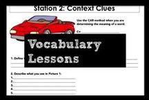 Vocabulary Lessons / Build morphemic knowledge of Greek and Latin roots as the foundation of vocabulary knowledge. Use engaging stations and pneumonic cues to help students develop complex and domain-specific vocabulary. Reinforce the use of context clues to identify the most challenging words.