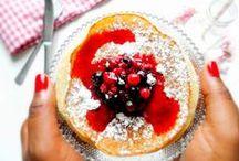 I love breakfast / healthy breakfast, yummy breakfast, Petit-Déjeuner