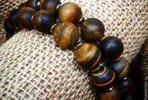 Мужские браслеты / Уникальные мужские комплекты браслетов из натуральных камней.