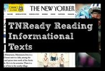 TNReady Reading Informational Texts / Texts released by the state aligned to TNReady and informational texts that focus on academic vocabulary, text complexity, and engage all readers. All texts featured on this board are open source and are linked through to the website where you can find a free, full-length copy of the text.