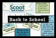 Back to School / Games, lessons, quizzes, and more to get your middle school students ready to learn in your classroom. Featuring engaging games like Scoot, reading investment discussions, and customizable bookmarks to engage students in reading.